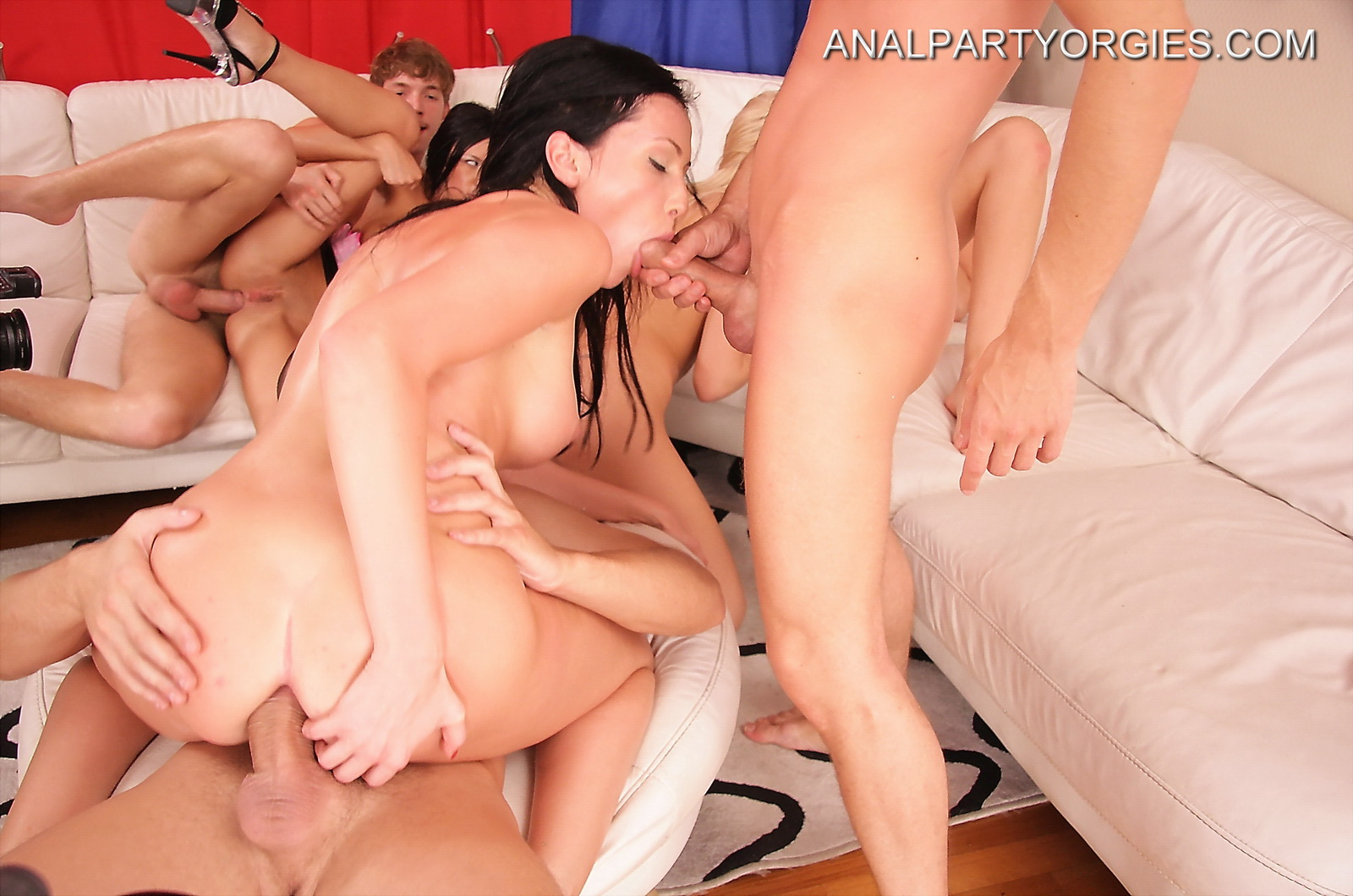 Anal party hd