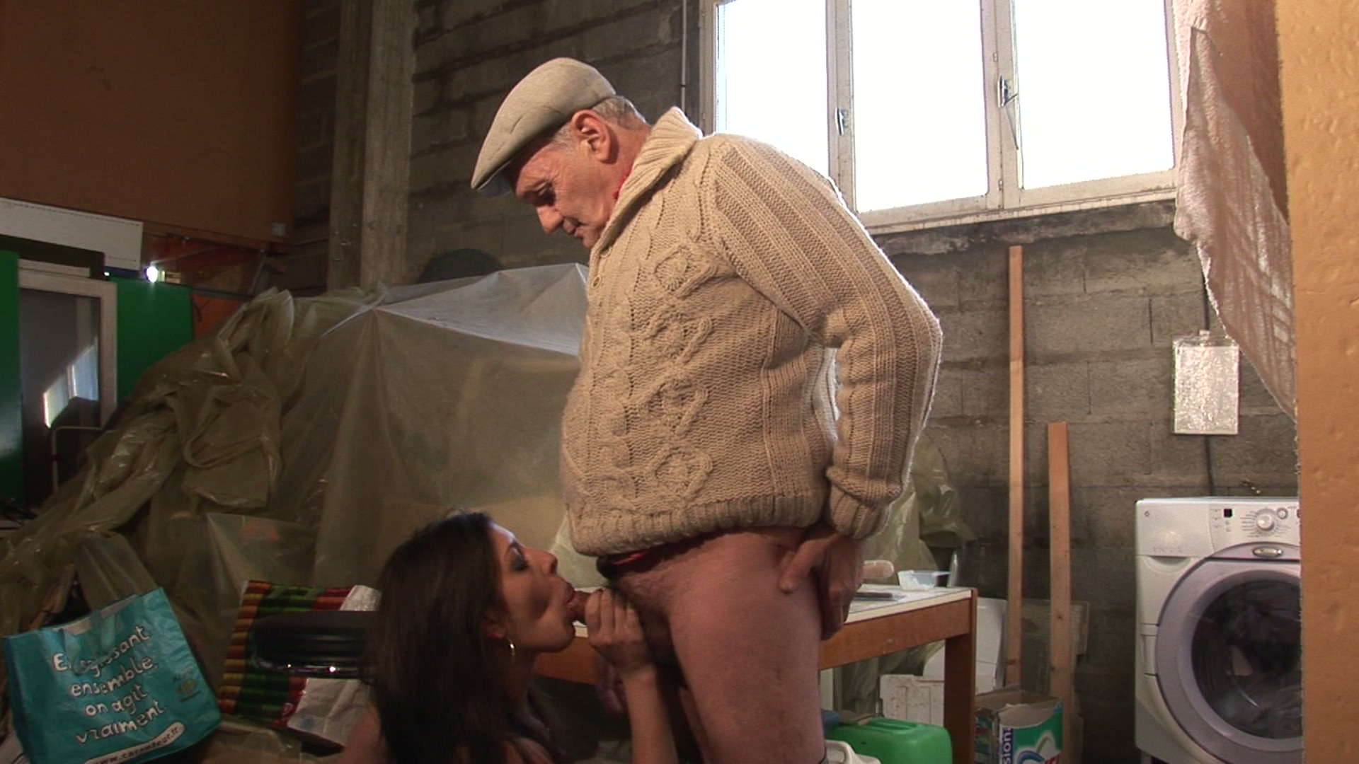 s old man young girl blowjob